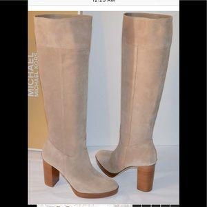 Michael Kors Regina Knee High Boots- platform
